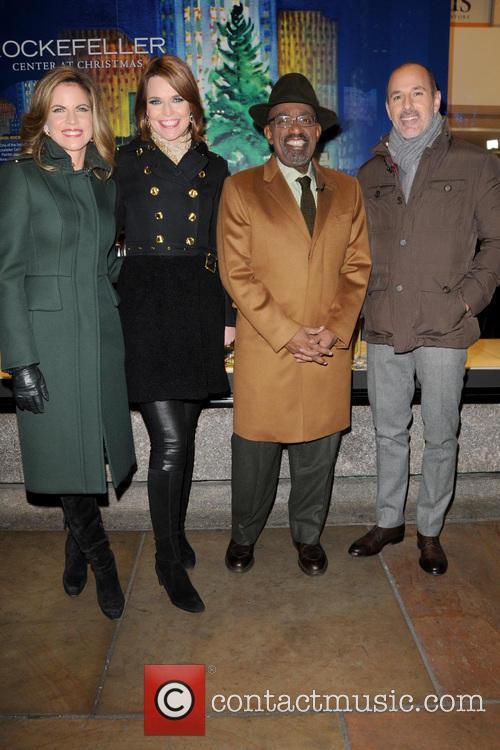 Natalie Morales, Savannah Guthrie, Al Roker and Matt Lauer 2
