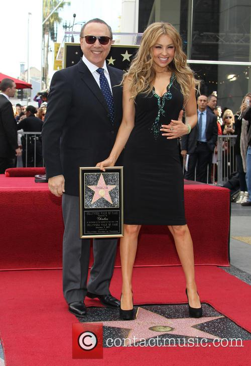 Thalia and Tommy Mottola 6
