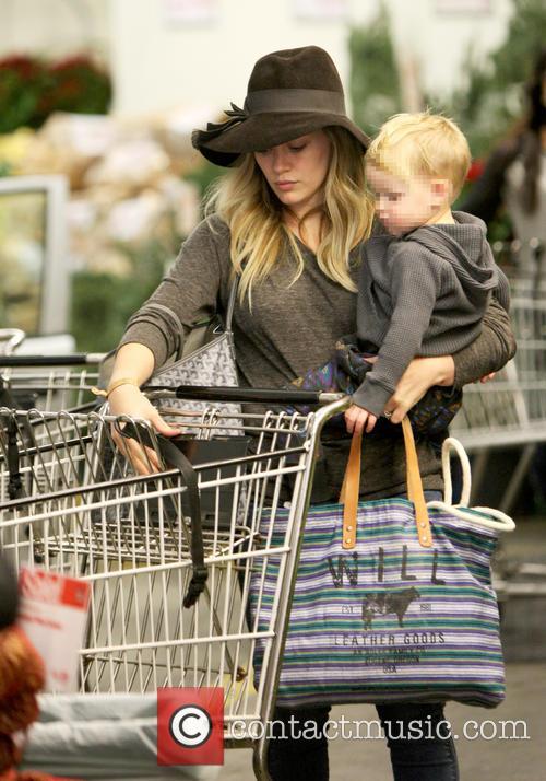 Hilary Duff and Luca Cruz Comrie 3