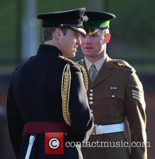 Prince William, Mons Barracks