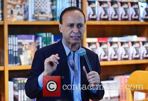 Luis Gutierrez signs copies of his book 'Still...
