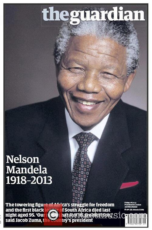 Front Pages From Around, The World and Nelson Mandela Dies 5