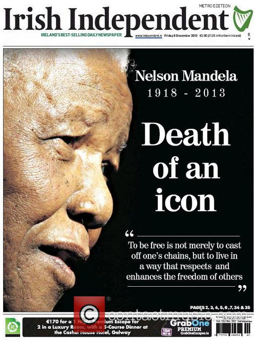 Front Pages From Around, The World and Nelson Mandela Dies 6