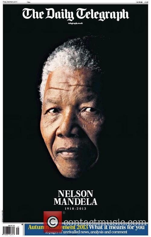Front Pages From Around, The World and Nelson Mandela Dies 7