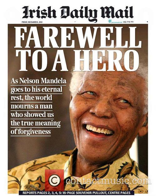 Front Pages From Around, The World and Nelson Mandela Dies 8