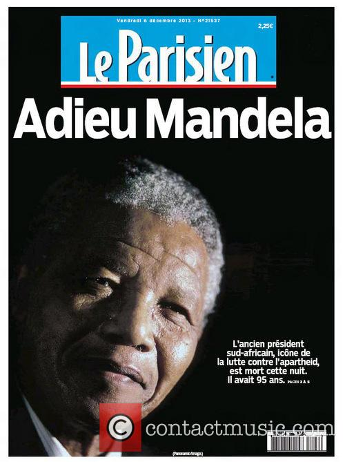 Front Pages From Around, The World and Nelson Mandela Dies 9