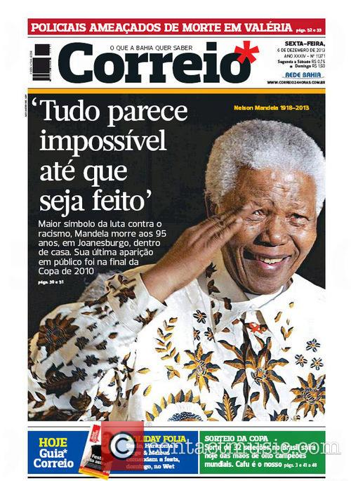 Front Pages From Around, The World and Nelson Mandela Dies 10