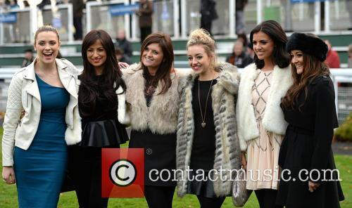 Chantelle Houghton and Lucy Mecklenburgh enjoy a day...