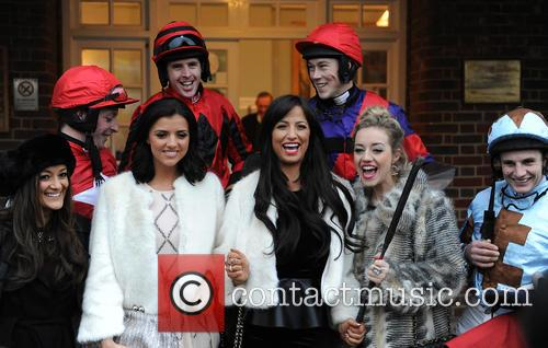 Chantelle Houghton, Lucy Mecklenburgh and Sandown Park 4