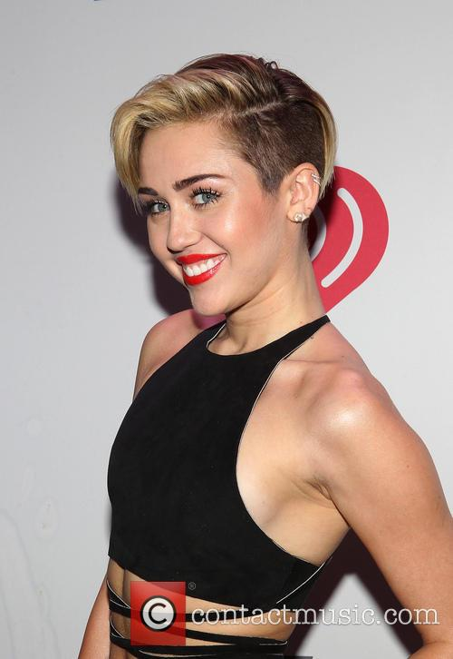 Miley Cyrus at KIIS FM's Jingle Ball