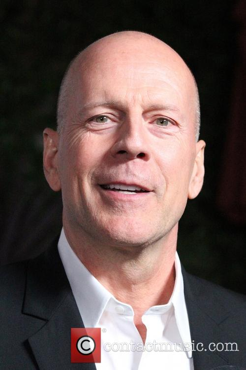 Bruce Willis attend Bette Midler one-woman Broadway play in LA. I'll Eat You Last: A Chat with Sue Mengers at the Geffen Playhouse in Westwood