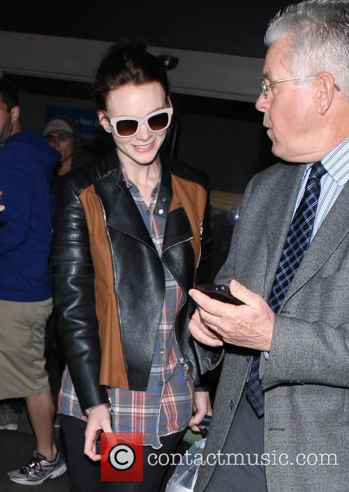 Carey Mulligan at LAX
