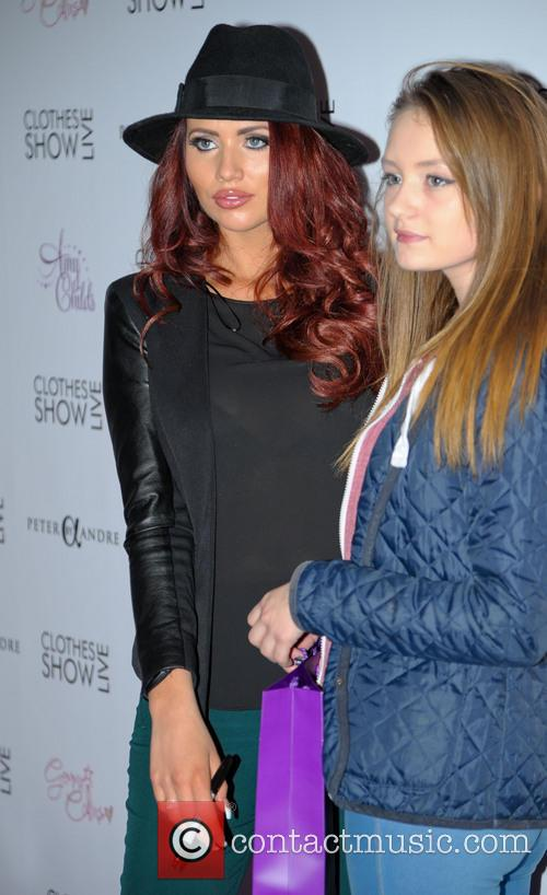 Amy Childs, Birmingham NEC, Clothes Show Live