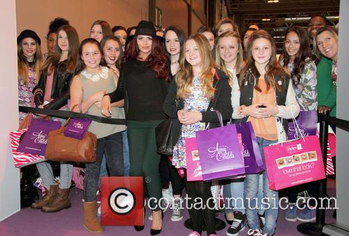 Amy Childs and Fans 1