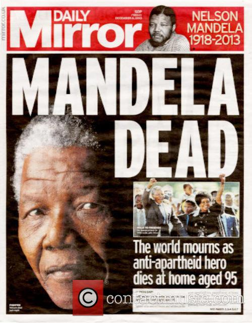 Front Pages From Around, The World and Nelson Mandela Dies 14