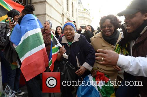 Tributes, Nelson Mandela and South Africa House 5