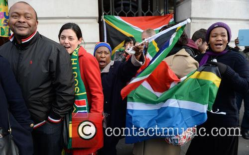 Tributes, Nelson Mandela and South Africa House 10