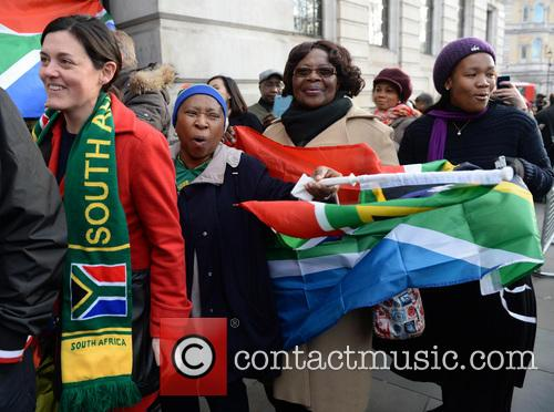 Tributes, Nelson Mandela and South Africa House 12