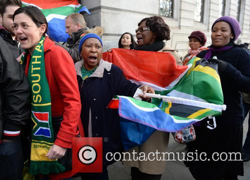 Tributes, Nelson Mandela and South Africa House 1