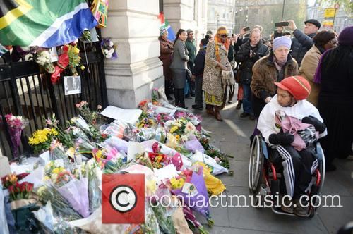 Tributes, Nelson Mandela and South Africa House 14