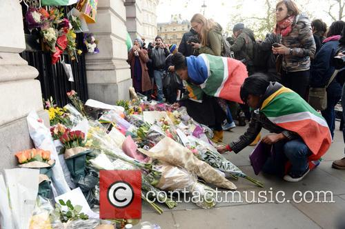 Tributes, Nelson Mandela and South Africa House 16