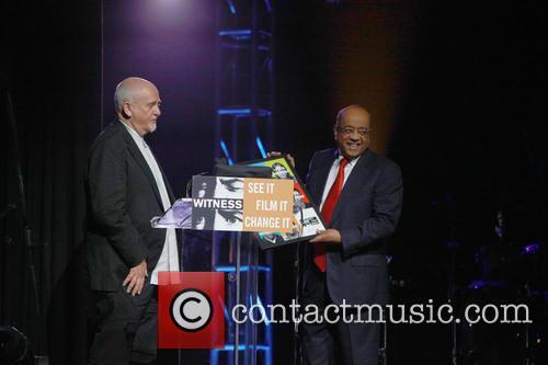 Peter Gabriel and Dr. Mo Ibrahim 1