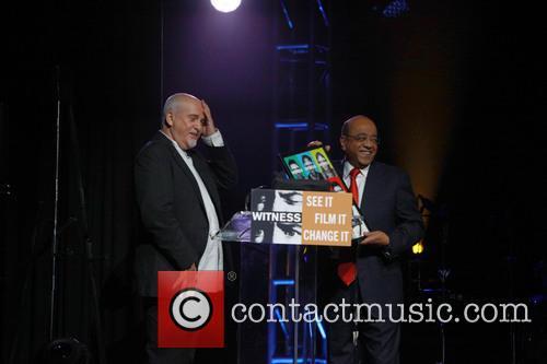 Peter Gabriel and Dr. Mo Ibrahim 2