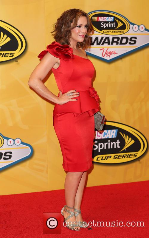 alyssa milano 2013 nascar awards at wynn 3986668