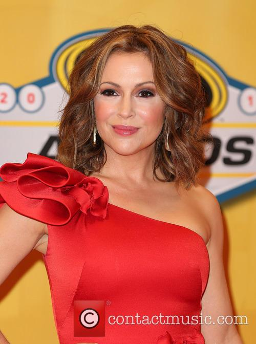 alyssa milano 2013 nascar awards at wynn 3986718