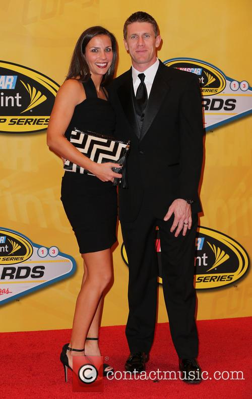 Las Vegas, Carl Edwards and Kate Edwards 11