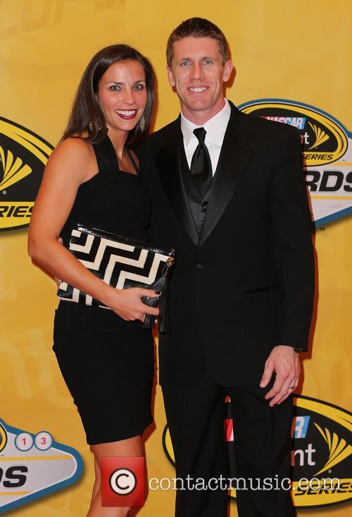carl edwards kate edwards 2013 nascar awards at 3986655