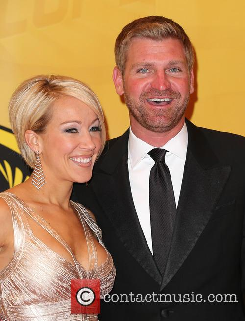 Las Vegas, Clint Bowyer and Lorra Podsiadlo 5