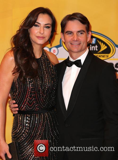 Jeff Gordon and Ingrid Vandebosch 3