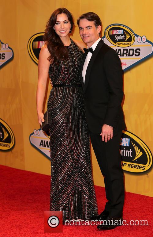 Jeff Gordon and Ingrid Vandebosch 1