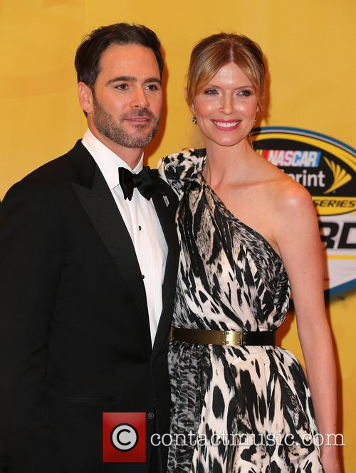 Las Vegas, Jimmie Johnson and Chandra Johnson 8