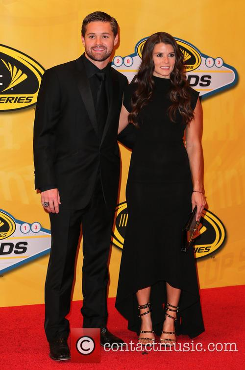 Ricky Stenhouse Jr and Danica Patrick 3