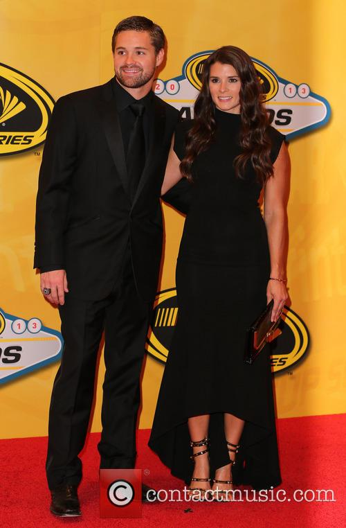 Ricky Stenhouse Jr and Danica Patrick 1