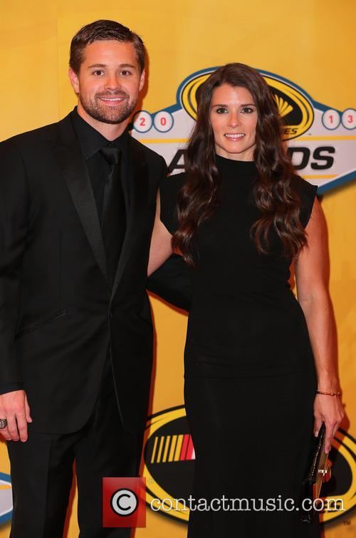 Ricky Stenhouse Jr and Danica Patrick 5