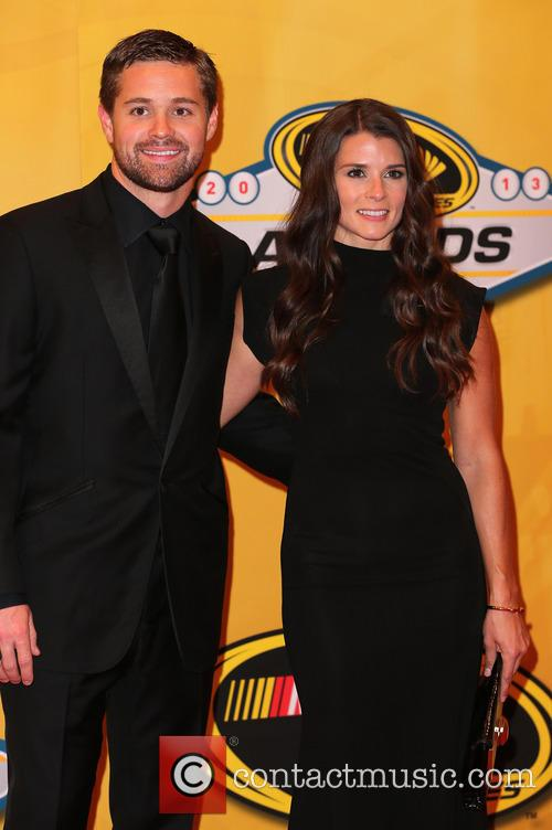 Ricky Stenhouse Jr and Danica Patrick 7