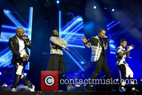 JLS performing live at The SSE Hydro