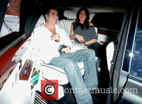 Simon Cowell and Lauren Silverman 6