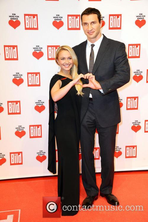 Hayden Panettiere and Wladimir Klitschko.