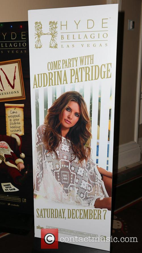 Audrina Patridge Hosts at Hyde Bellagio