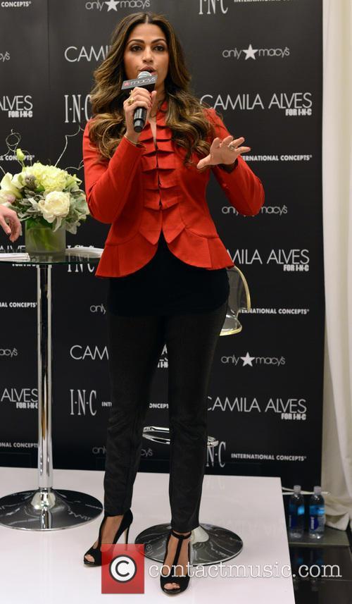 Camila Alves Hosting INC Fashion Show