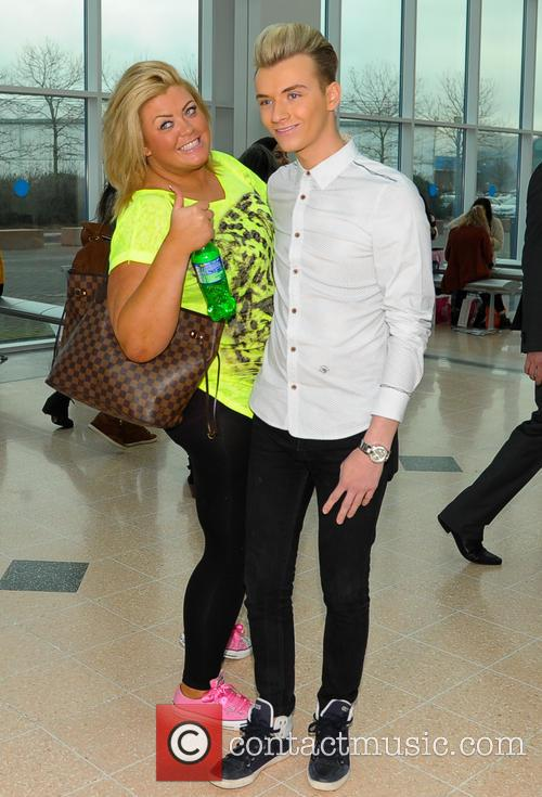 Gemma Collins and Harry Derbidge 1