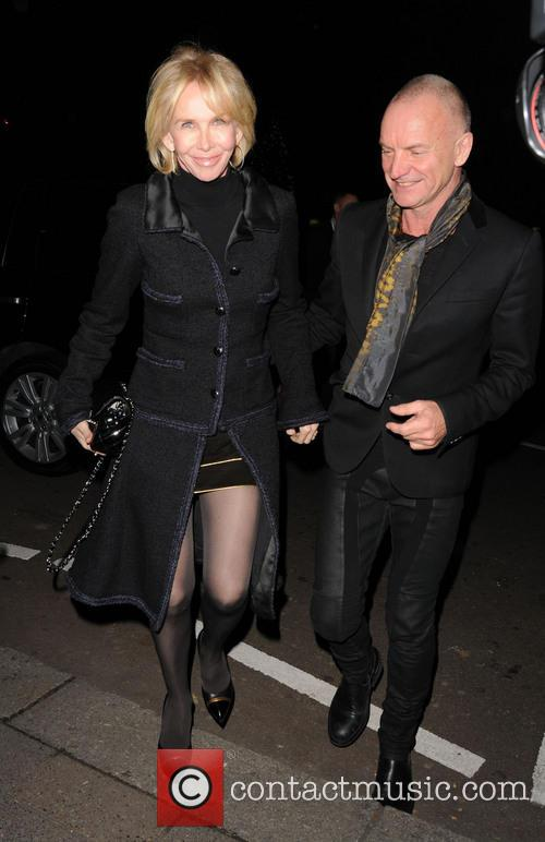 Trudie Styler and Stine 2