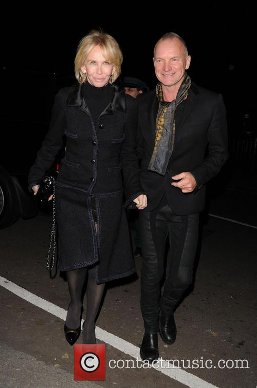 Trudie Styler, Stine, uk