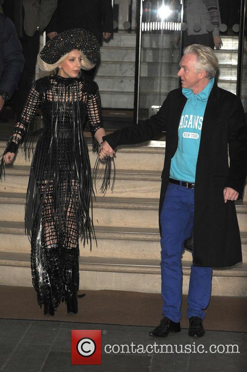 Lady Gaga and Philip Treacy 2