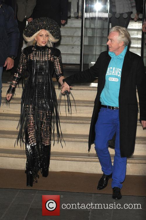Lady Gaga and Philip Treacy 4