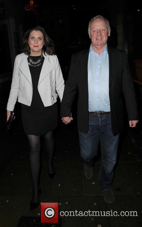 Les Dennis and Claire Nicholson 2